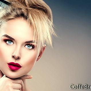 Třpytivý make-up