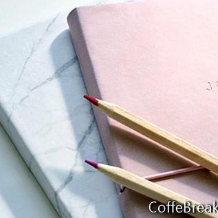 Tagebuch in einer Box