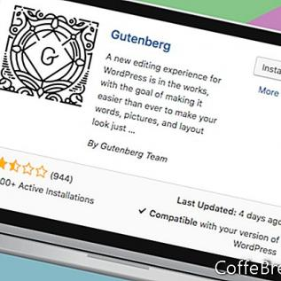 Wordpress & Gutenberg Editor