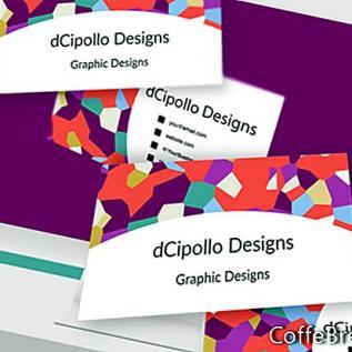 Design Visitenkarte Frontvorlage Photoshop CC