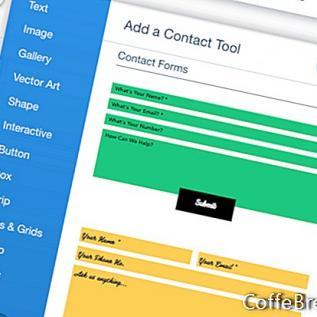 A Wix webhely a Scratch-ról - Vegye fel az űrlapbeállításokat