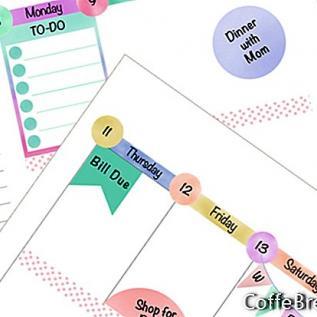 Planner Sticker Kit - Akhir Pekan, Washi & Bilah Samping