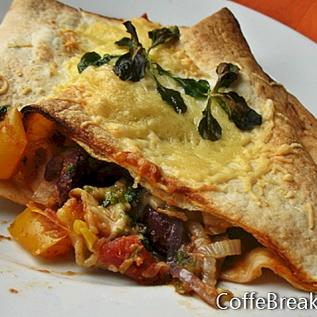 High Fibre Tortilla Rezept