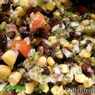 Három nővér kukoricabab saláta recept