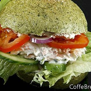 Krevety salát recept