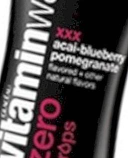 Vitaminska voda Nula Acai-borovnica šipak