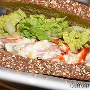 Идеи за сандвич със скариди и риба