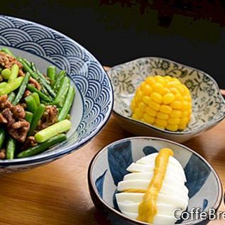 Čínská nakládaná zelenina recept
