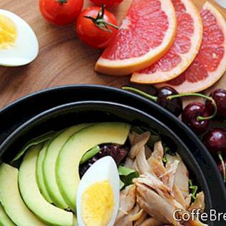 Ananasfrucht- und Safternährung