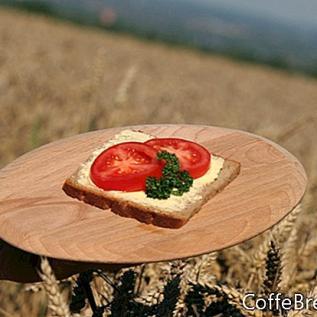 Ezekiel 4: 9 Klíčící zrno chleba Recenze