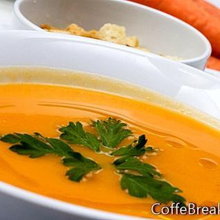 Vegan Baharatlı Havuç Çorbası Tarifi