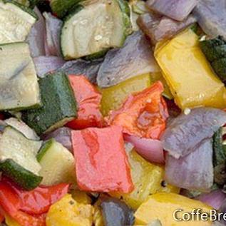 Resipi Sandwich Itali Veggie Low-Carb