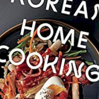 Korejski pregled knjige kuhanja za kućnu upotrebu