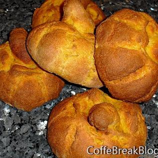 Rezept für Easy Pumpkin Bread Bowls