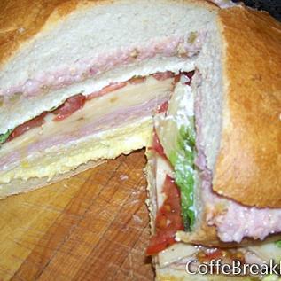 Трислойна рецепта за сандвич за пикник