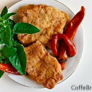 Smažený recept na sendvič Tilapia