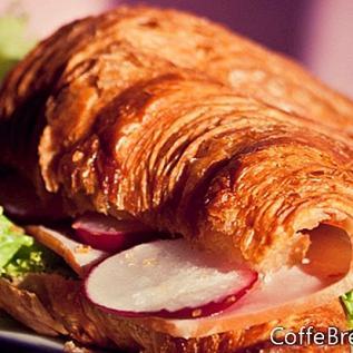 Turki dengan Resep Croissant Mango Mayo