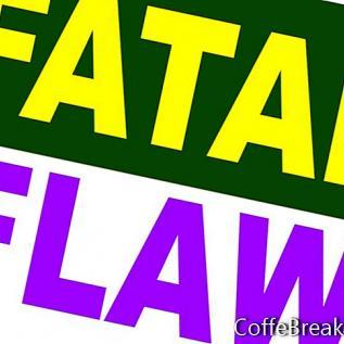 Avez-vous le défaut fatal?