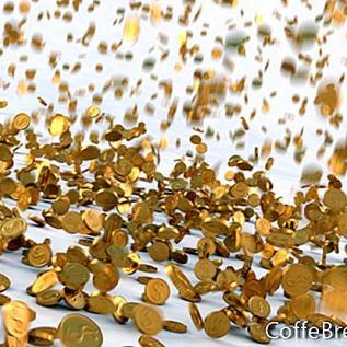 Pechinchas de moedas no mercado