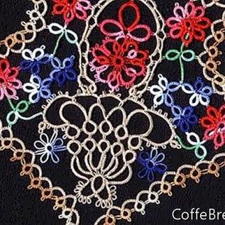 Roll Tatting Round Medallion