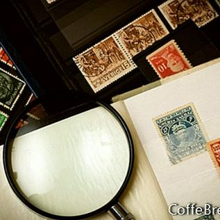 Alliert yrke frimerkesamling
