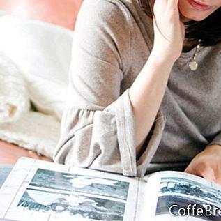 Scrapbook-Papier und Verzierungen organisieren