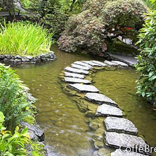 Un jardín relajante: el segmento final