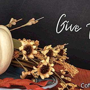 Naturalne sposoby dekoracji na Święto Dziękczynienia