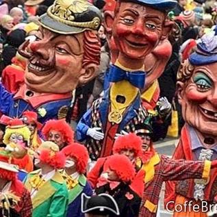 Carnaval alemán, Fasching, Fastnacht y compañía