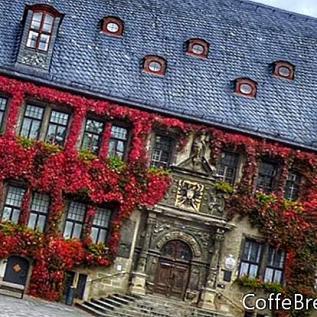 กล่องหน้าต่างและสวนระเบียงของเยอรมนี