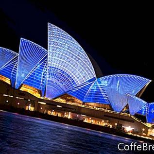 Rejsetider og afstande i Australien