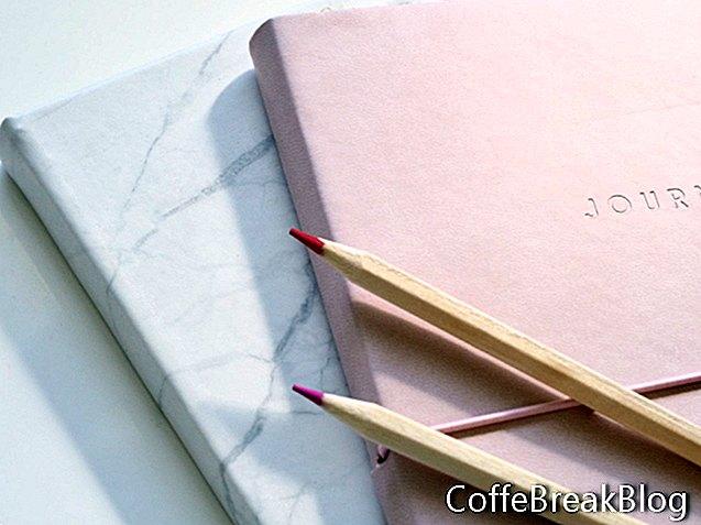 Journaling Versprechen