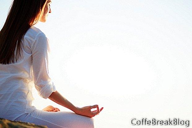 Derramar el estrés, aumentar la confianza en un acto simple