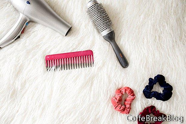 Updo pentru părul foarte lung - cu o răsucire