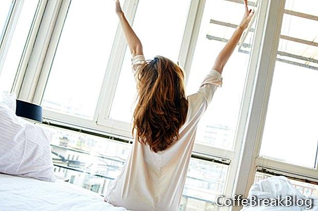 Machen Sie die Schlafenszeit zu einer Frist