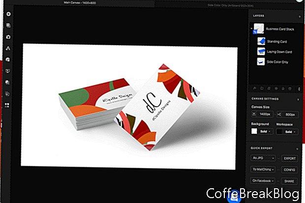 Artboard Studio Visitenkartenmodell