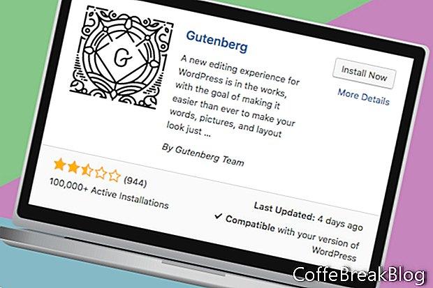 Editor de Wordpress y Gutenberg