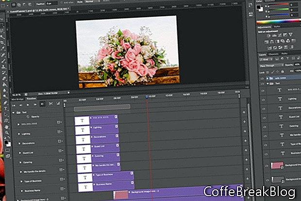 Photoshop Animation - Text & Zeitleiste