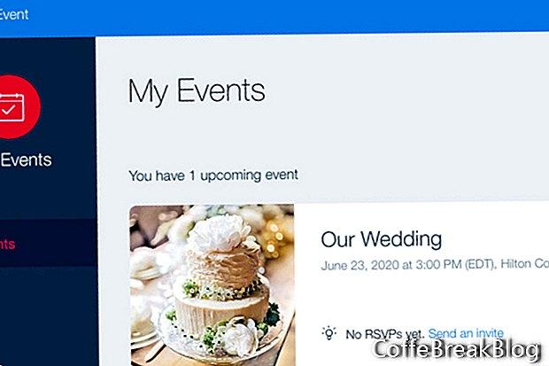 Wix Események App regisztrációs űrlap