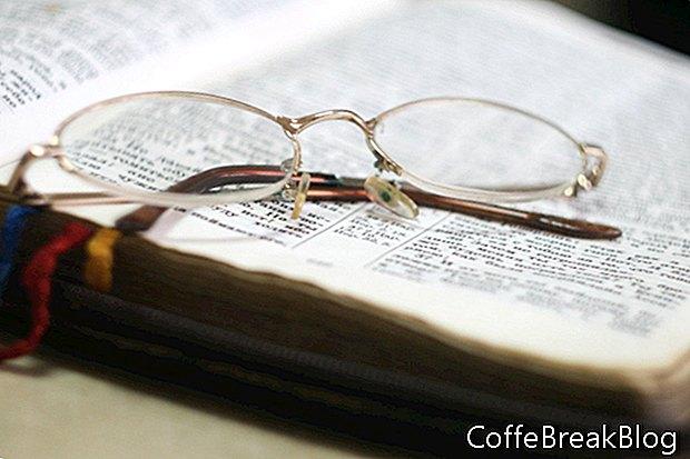 לימוד הבשורה באפריל