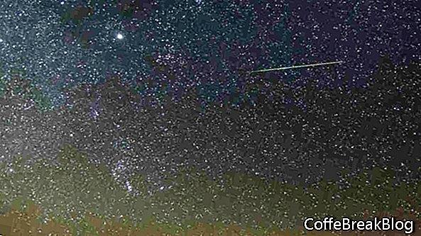 Orionidit - Halleyn komeetan murut