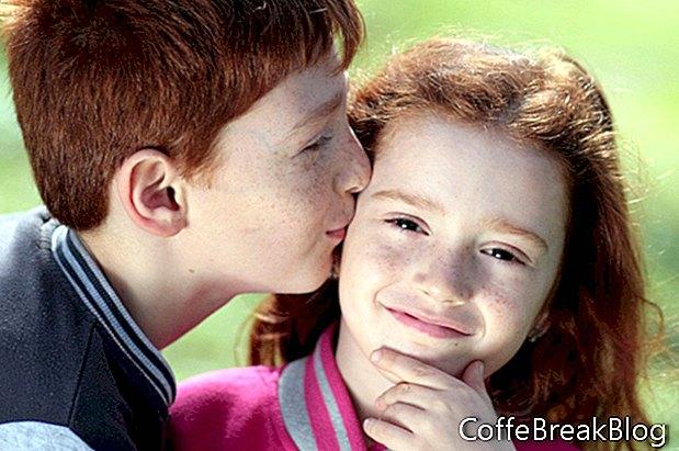Lecciones para niños en el día de San Valentín