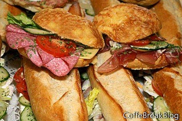 Herbst Familienspaß mit Sandwiches