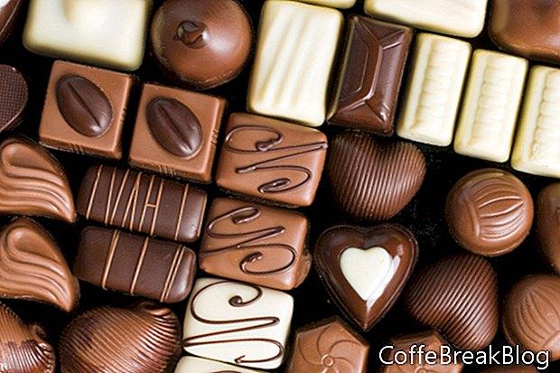 Furcsa csokoládéval kezelt kezek