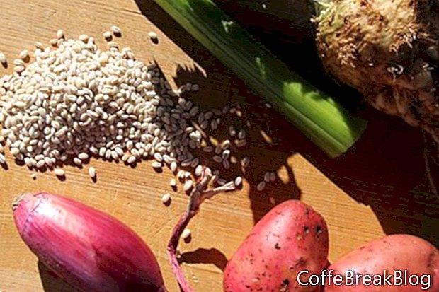 Receta de sopa de verduras con cebada y pavo