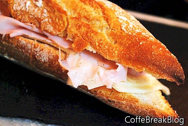 Jalapeno Cheddar Roll und Chicken Sandwich Rezept