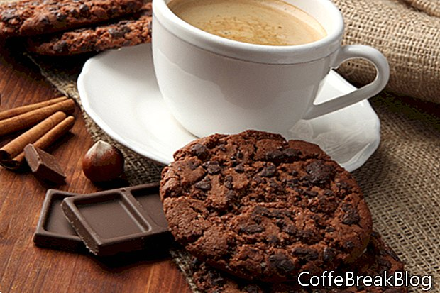 Blum's Coffee Crunch pyrago receptas