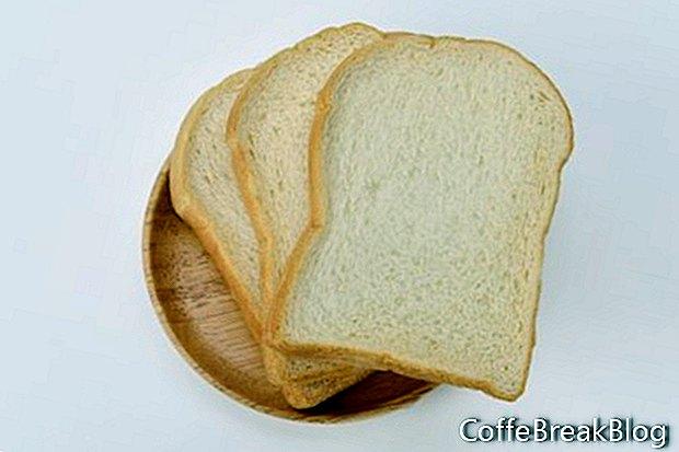 Códigos de lazo y pan fresco