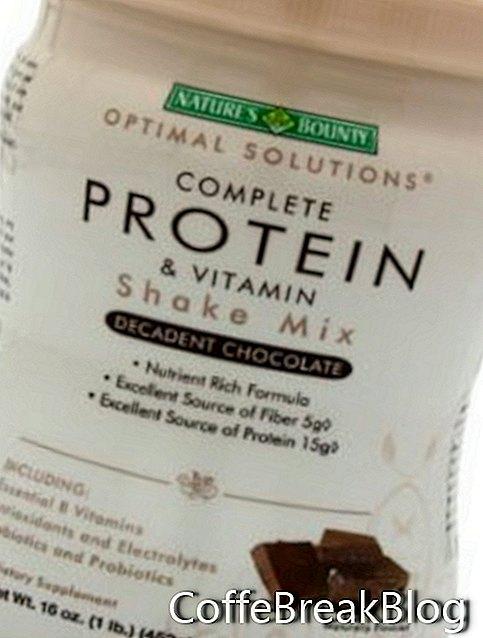 """Nature's Bounty"" baltymų kokteilis"