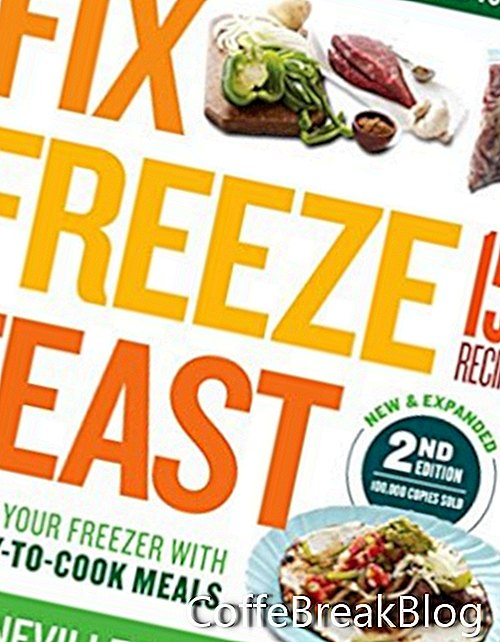 Pataisykite, įšaldykite, šventės kulinarijos knygų apžvalgą